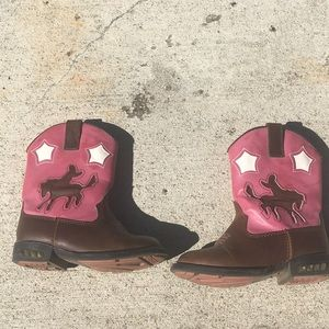 Roper infant cowgirl boots